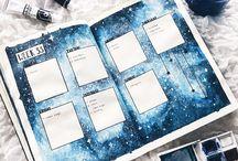 Bullet Journaling Spread Ideas