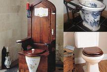Туалет в столбы