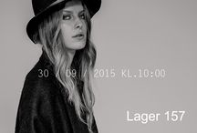 FADE TO BLACK. / ICONS. New Black Collection. Lager 157 proudly present: THE BLACK DENIM LOOK.