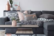 Design | Cozy living rooms / Get comfortable in your main living space.