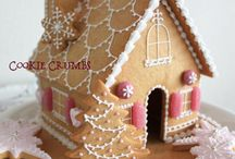 gingerbread house and tree..
