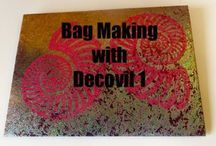 Arts and crafts Decovil 1 bag making