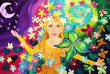 Karin Mackay Art works / My art