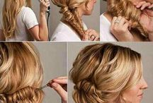 Hair Styles for Long Hair / Saving time and stress