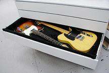 Muebles para guitarras