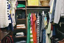 Master bedroom closet ideas / by Beth Hawkins