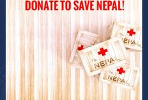 Pray For Nepal / University of Atlanta urges you to donate for the Nepal earthquake victims and make a difference.