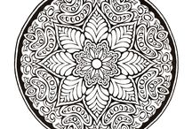 Mandala - coloring