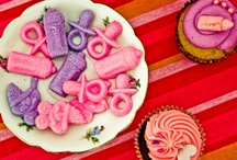 Party Ideas + Baby Shower- It´s a girl / Detalles de Baby Shower. It´s a girl. Fiesta de pañales. http://antonelladipietro.com.ar/blog/