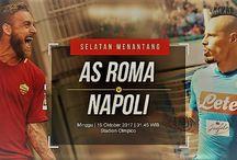 Prediksi AS Roma vs Napoli 15 Oktober 2017