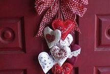 Dekorace na dveře