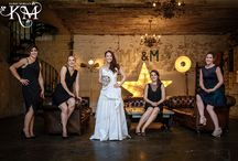 """Cool Wedding Groups / London Wedding Photographer Kerry Morgan """"I love to shoot stunning group images at weddings.  Think GQ & Vanity Fair.  I'm described as the Annie Leibovitz of wedding photography!"""""""