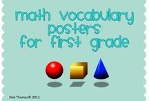 School - Math Vocabulary