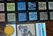Tim Holtz products and techniques