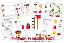 Preschool ~ Fire Safety / by Jill Dodds