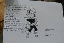 My Art / A collection of my art. Includes: * Creepy Kawaii designs * Character art for my books * MLP:FiM fan art * Furry art