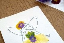 Craft: Dry Flower Fairy