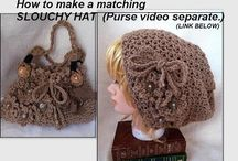 CROCHET BAGS AND PURSES