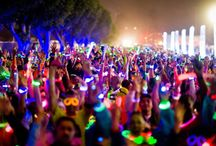 Glow Runs / A collection of images of Neon Glow Runs and  Glow Marathons!