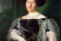 Queen María Isabella of the Two Sicilies / Maria Isabella of Spain (6 July 1789 - 13 September 1848) was an infanta of Spain and Queen consort of the Two Sicilies. She was the second wife of King Francis I of the Two Sicilies. She was the daughter of Charles IV of Spain and Maria Luisa of Parma. Francis and Maria Isabella had 12 children. If you will read about their 12 children at http://en.wikipedia.org/wiki/María_Isabella_of_Spain