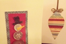 Holiday - Christmas - Greeting Cards - Hand Made / by Suzanne Barrow
