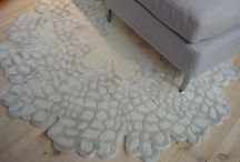 Rugs in a Mood living / Anna Charlottes textiles all made with a story.