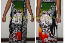 dress robe rasta reggae / Dress robe rasta reggae unize Rayon 100%