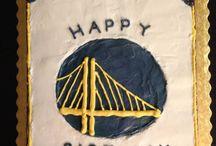 Warriors Cakes