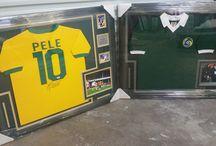 Framed Soccer Jerseys / Framed soccer jerseys!