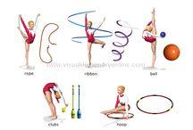 La mia grande passione, la ginnastica ritmica