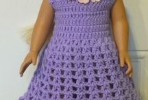 Doll Crochet Clothes Free Pattern