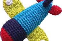 knit & crochet rattles