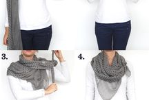 Scarf / How to tie a scarf