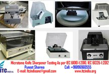 Microtome Knife Sharpener Testing As per IEC 61010-1:2010, IEC 61326-1:2012 / Microtome Knife Sharpener Testing As per IEC 61010-1:2010, IEC 61326-1:2012 If you're Buyers Demanding for Testing– Contact Now! Mr. Puneet Sharma Call: 08196980555 Email: ITCIndiaOne@Gmail.Com