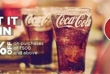 Coca-Cola / Cola cola is a world famous softdrink brand with presence in more than 200 countries