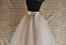 tutu and tulle skirts