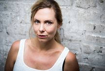 Esther Kuhn Schauspielerin with Bernd Brundert / alle copyrights by Bernd Brundert