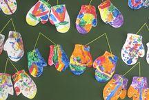 Winter preschool crafts / by Katrina Flynn