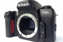 Nikon F80 35mm SLR Film Camera Body Only From Japan