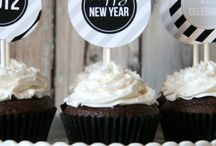 New Year's Eve Party / Flashy party ideas that will make a statement at your New Year's Eve bash!