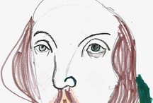 shakespeare / Shakespeare. Could he be more iconographic? As you see, no.
