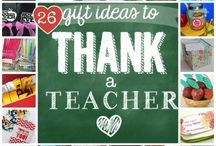 teacher appreciation ideas / bedankjes voor juf/meester