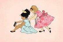 girls shared room ideas / by Kaylyn Van Camp