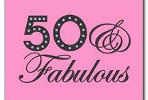Kathy is Half a Century Old! / I am turning 50 on May 27th. Commence with the shenanigans! Feel free to start pinning anytime y'all want! I have no taboos so have a blast! I'll probably be the one pinning the most shameful things. LOL / by Kathy Canevari