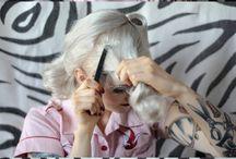 hair, make-up and fashion