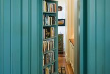 Nice bookcases / by Something Nice Today