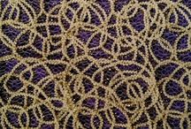 """New Embroidered Sheer Overlay """"Gorgeous"""" Table Linen for Fall / """"Gorgeous"""" is our new Embroidered Sheer overlay tablecloth.  It magically  transforms over whatever color you put underneath! Very luxurious. Lots of texture."""