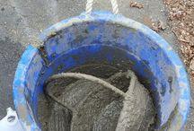 Transformați coșul dvs. de răchită într-un coș de grădină din beton Hypertufa
