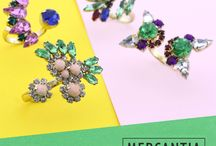 MERCANTIA LOOKBOOK 2016 / #bijoux #mercantiabijoux #earrings #accessories #lookbook #colors