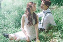 Asian love / sweet and beautiful couple